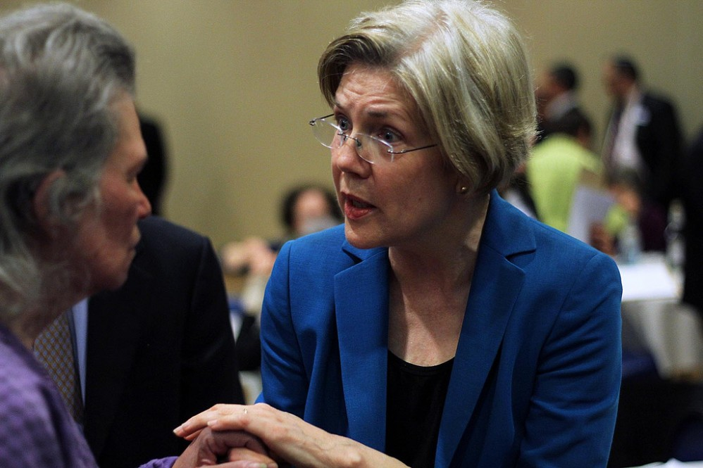 Elizabeth Warren Lies To School Choice Advocate About Sending Her Son To Private School