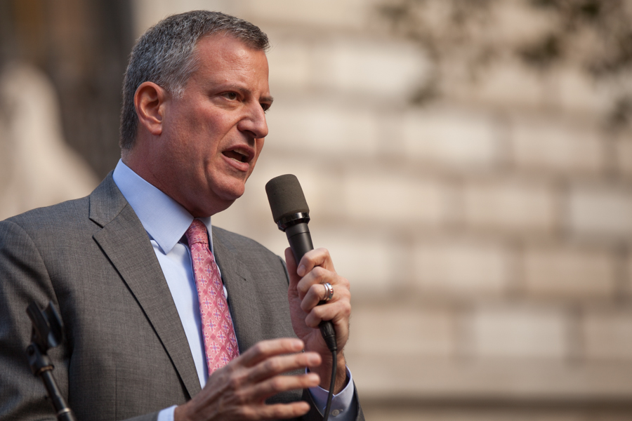 Rage When Trump Targets Media, Crickets When De Blasio Targets Media