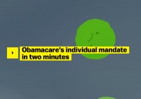 Ezra Klein's Misleading Explainer On The Individual Mandate