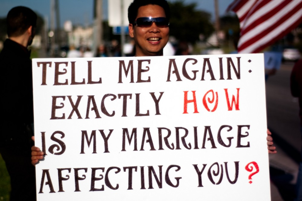 Gay Marriage and the Right to Be Wrong