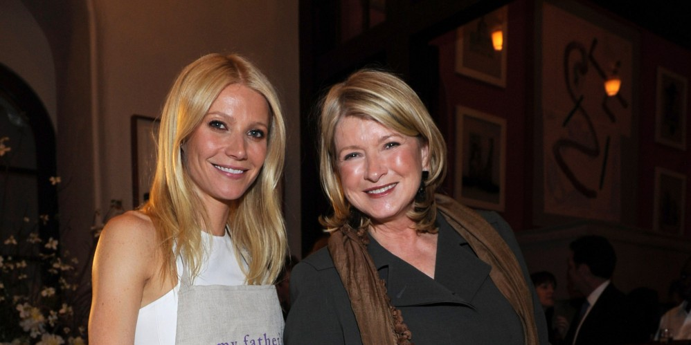 The Passive-Aggressive Pie War Between Martha Stewart And Gwyneth Paltrow