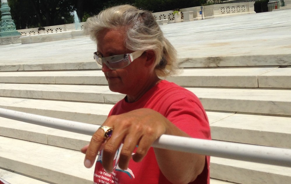 Meet The Lone Same-Sex Marriage Opponent Outside The Supreme Court