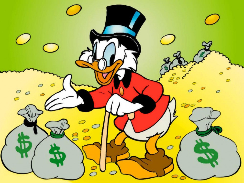 The Story Of Donald Trump, As Told By 13 GIFs Of Scrooge McDuck