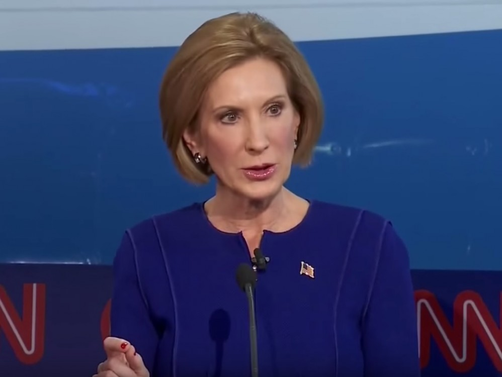 Carly Fiorina Shows How To Respond To Planned Parenthood Shooting