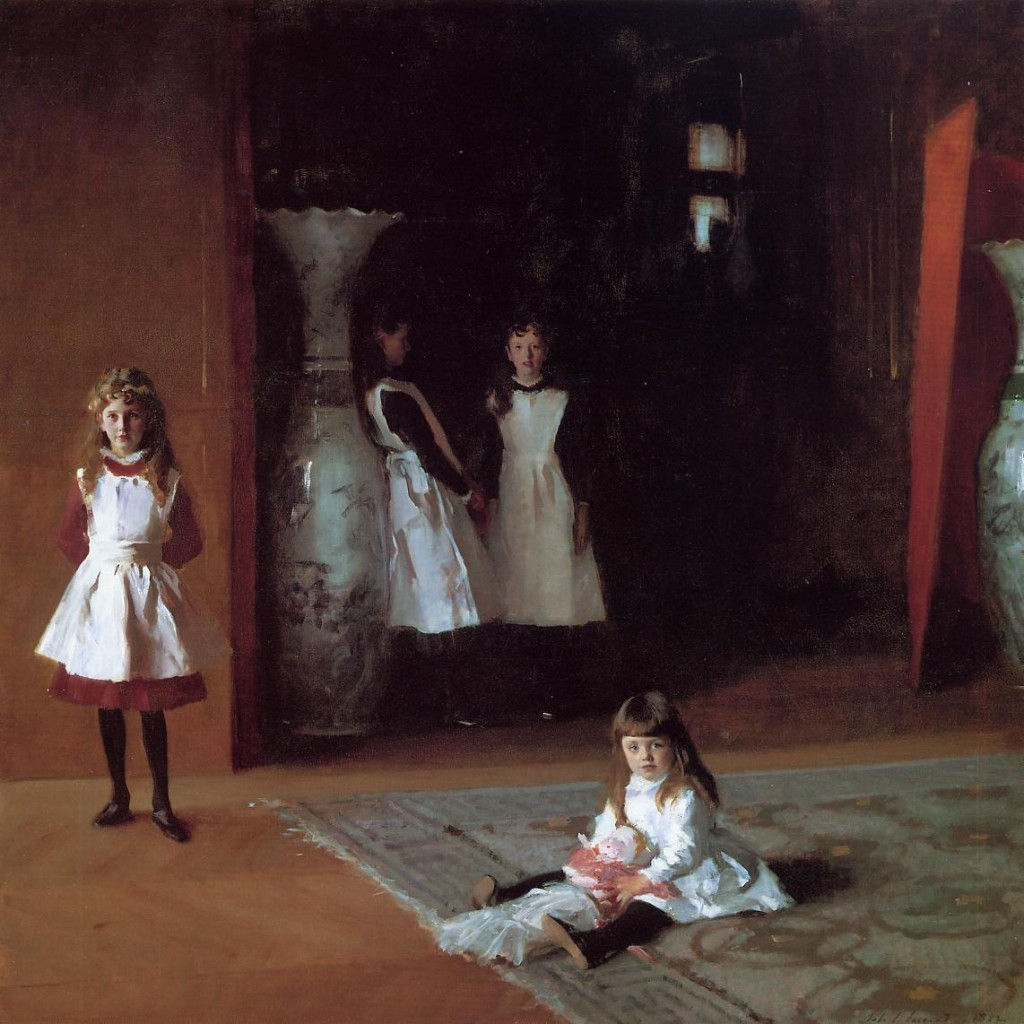 """The Daughters of Edward Darley Boit,"" John Singer Sargent."