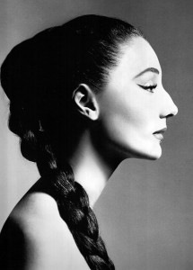 Vicomtesse Jacqueline de Ribes by Richard Avedon - December 1955