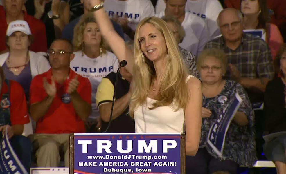 Ann Coulter Worries Donald Trump Is Mental