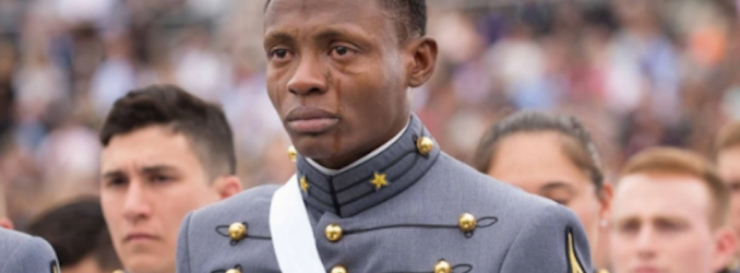 This Photo Of A Teary-Eyed West Point Graduate Perfectly Captures The American Dream