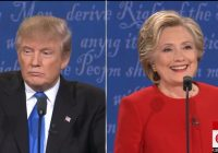 The Clinton-Trump Debate Was An Embarrassment For Everyone Involved