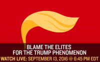Watch Live: Ben Domenech Blames The Elites For Trump's Rise