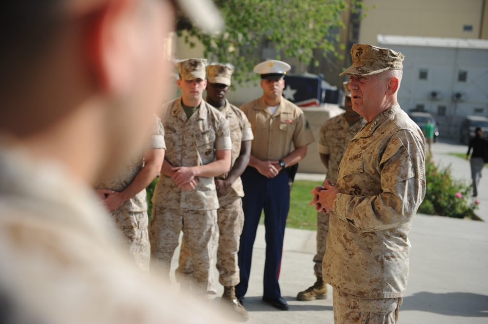 Conversations On General Mattis, Discrimination, And Coping With Grief