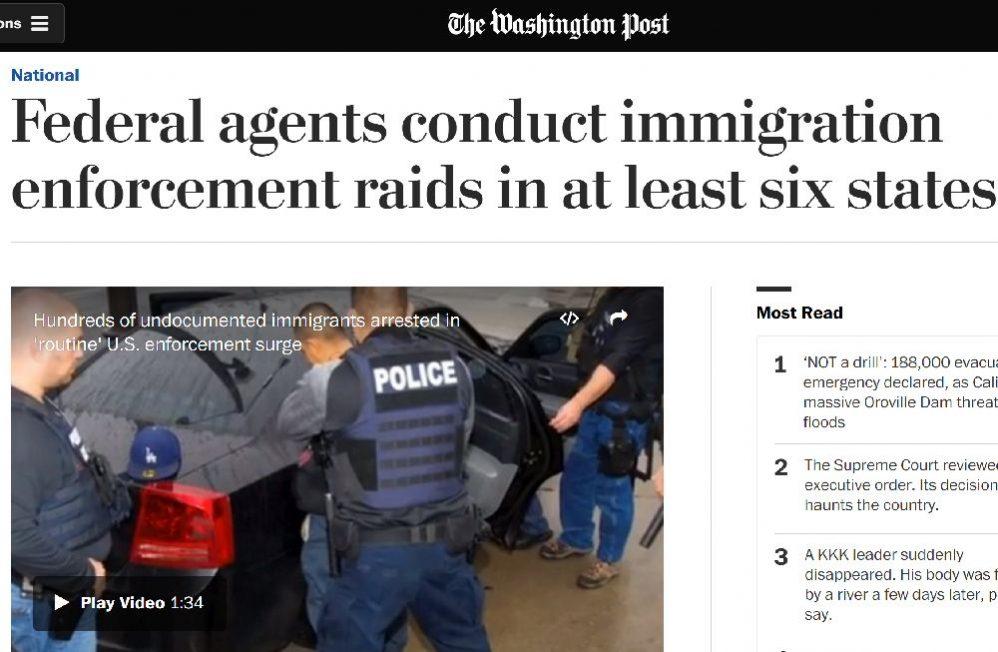 <em>Washington Post</em> Forgets All About Obama's Deportation Practices