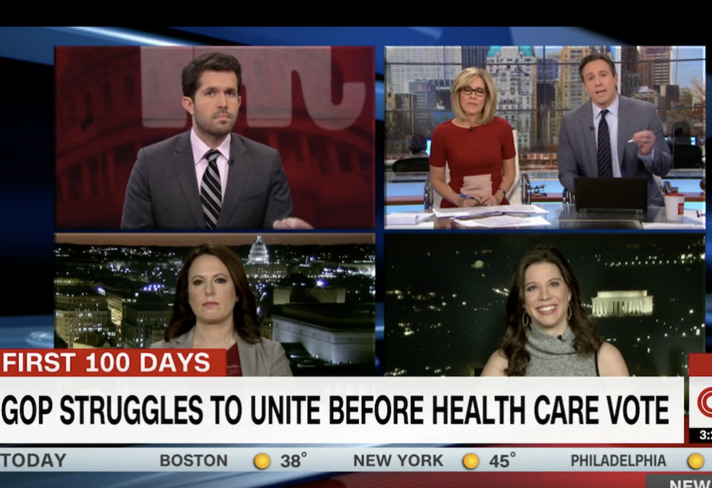Watch Mary Katharine Ham Clap Back At Chris Cuomo On Healthcare