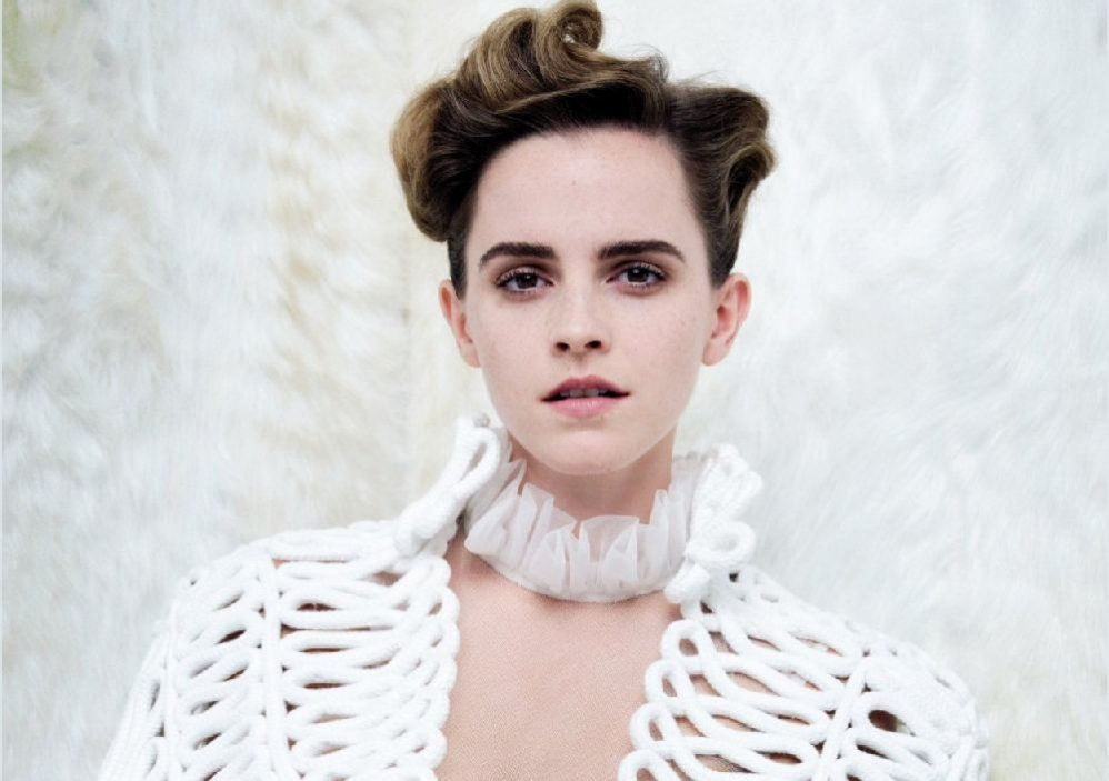 Feminists Catfight Over Emma Watson's Skimpy <em>Vanity Fair</em> Cover
