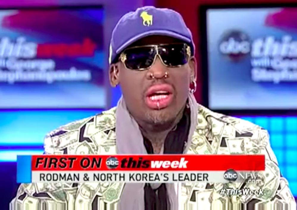 Should Dennis Rodman Lose Hall Of Fame Spot For Whitewashing A Murderous Regime?