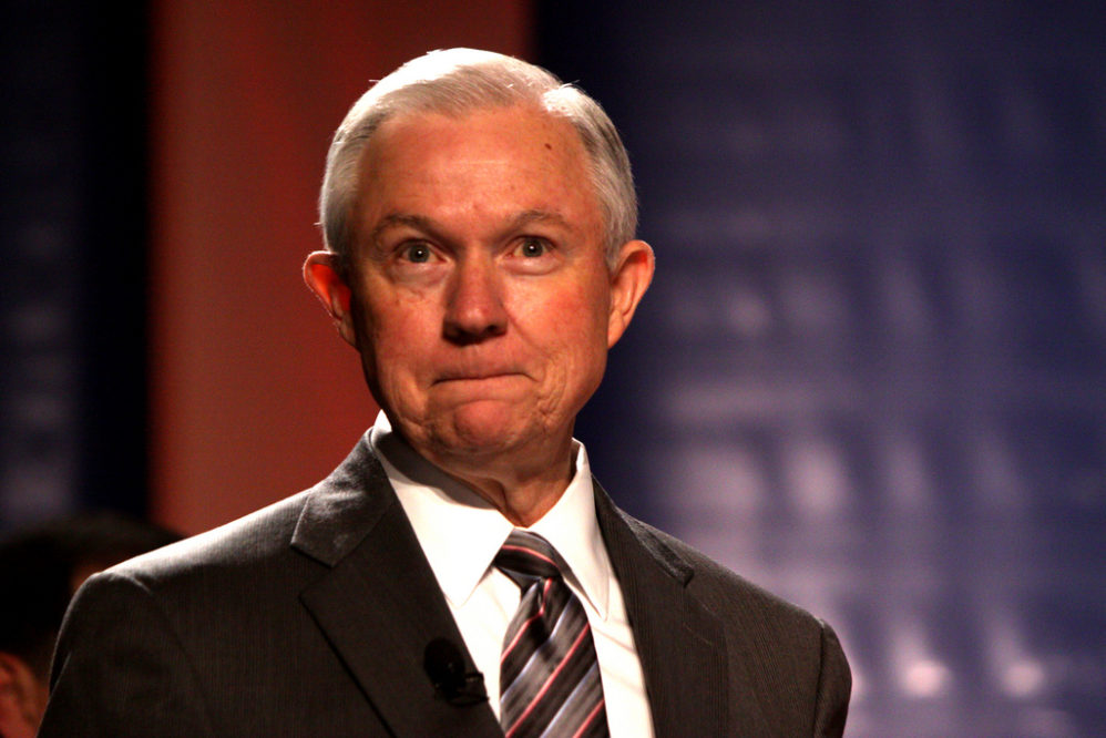Sorry, Jeff Sessions, But We're Just Not Experiencing A Violent Crime Wave
