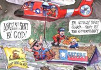 5 Problems With <em>Politico</em>'s Cartoon Mocking Texas Flood Victims