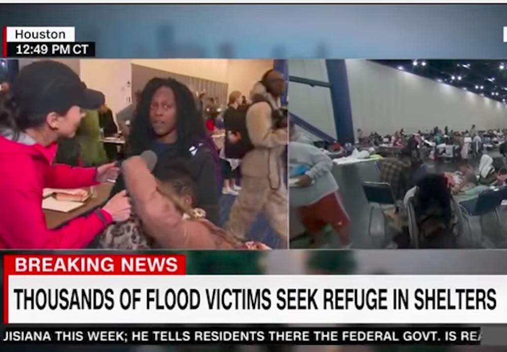 Hurricane Harvey Survivor Slams CNN For Exploiting Tragedy For Ratings