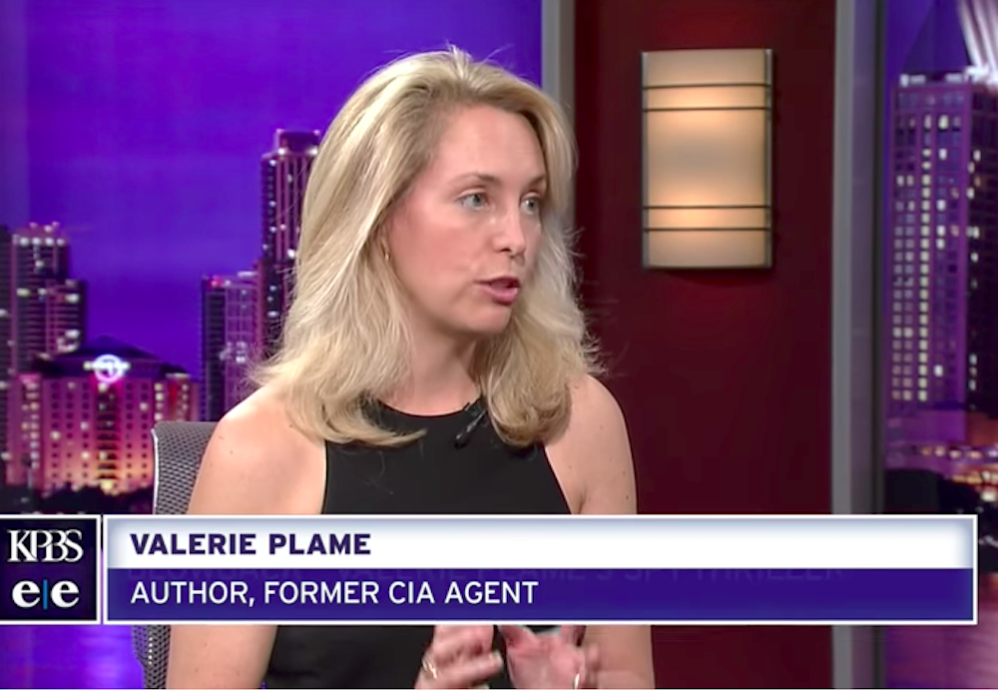 Leftist Darling Valerie Plame Wilson Is A Bit Of An Anti-Semite