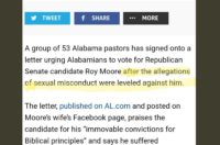 No, 50 Pastors Did Not Endorse Roy Moore After The Sexual Assault Allegations