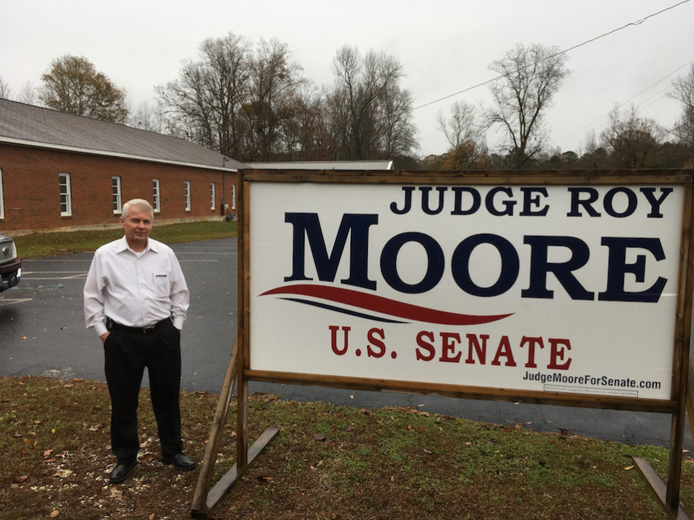 Roy Moore's Core Supporters In Alabama Don't Care What You Think