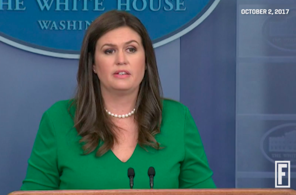 <em>Washington Post</em> Columnist Brings Up Sarah Huckabee Sanders' Body In Border Wall Comparison