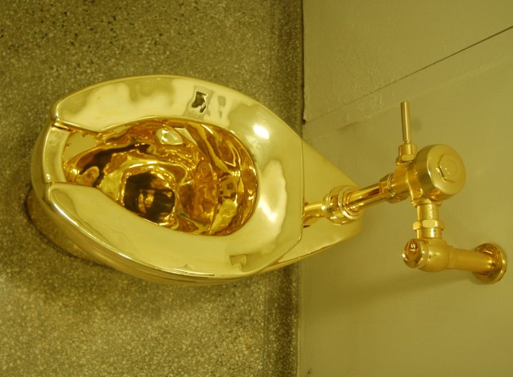 With Gold Toilet Offer, Guggenheim Competes With Trump In Vulgarity