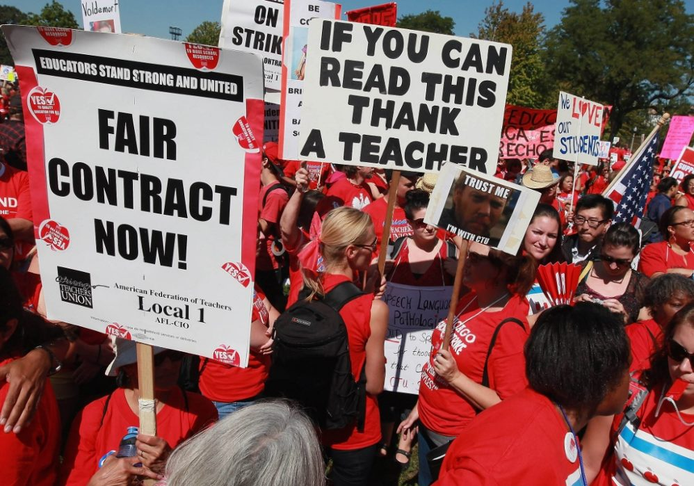 West Virginia Teachers, Parents: We're Scared To Disagree With Striking Teachers Unions