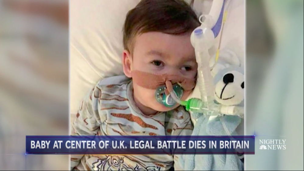 Alfie Evans' Death Illustrates The Monstrous Logic Of The Welfare State