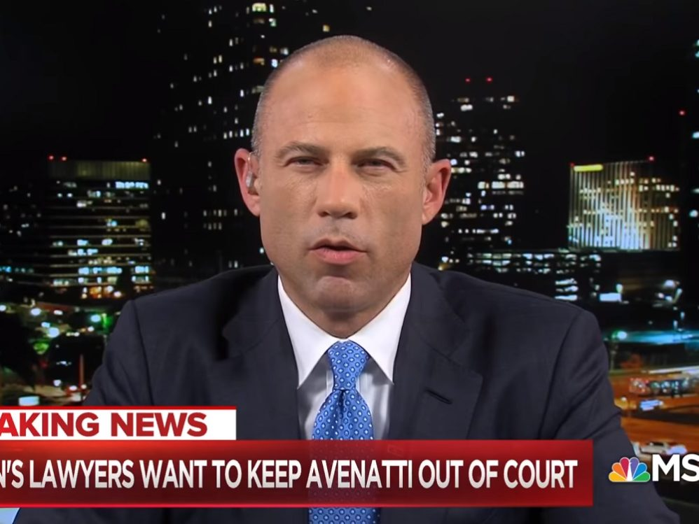 Cohen's Lawyers Try To Block Avenatti From Bringing His Carnival To New York