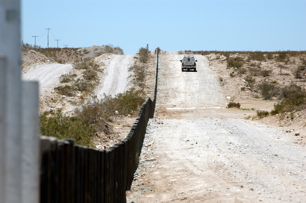 New Mexico border patrol