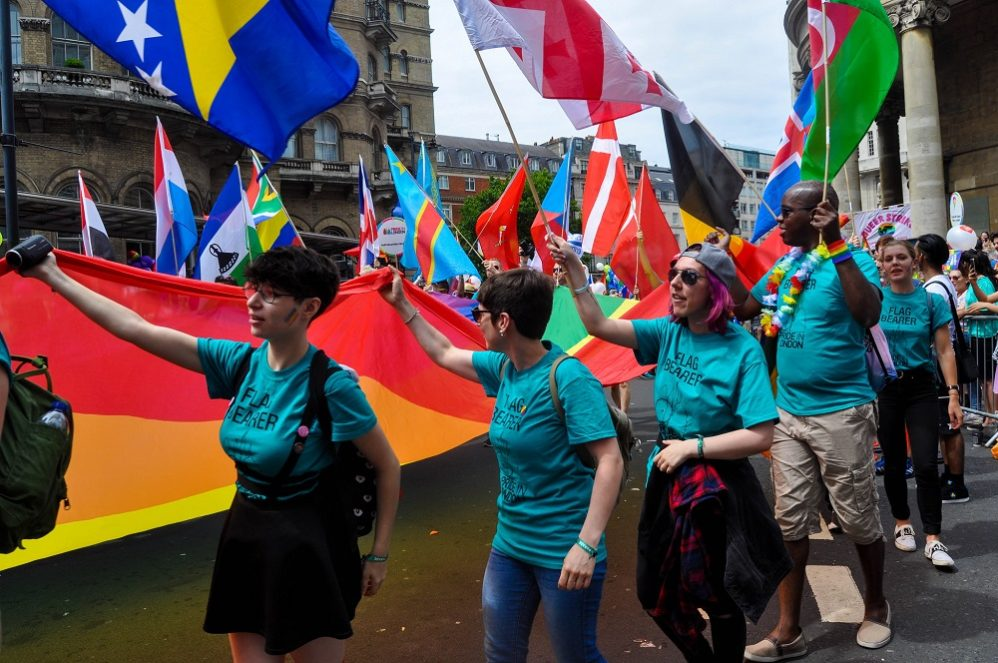 Lesbians Targeted For Objecting To Transgenderism At London Pride
