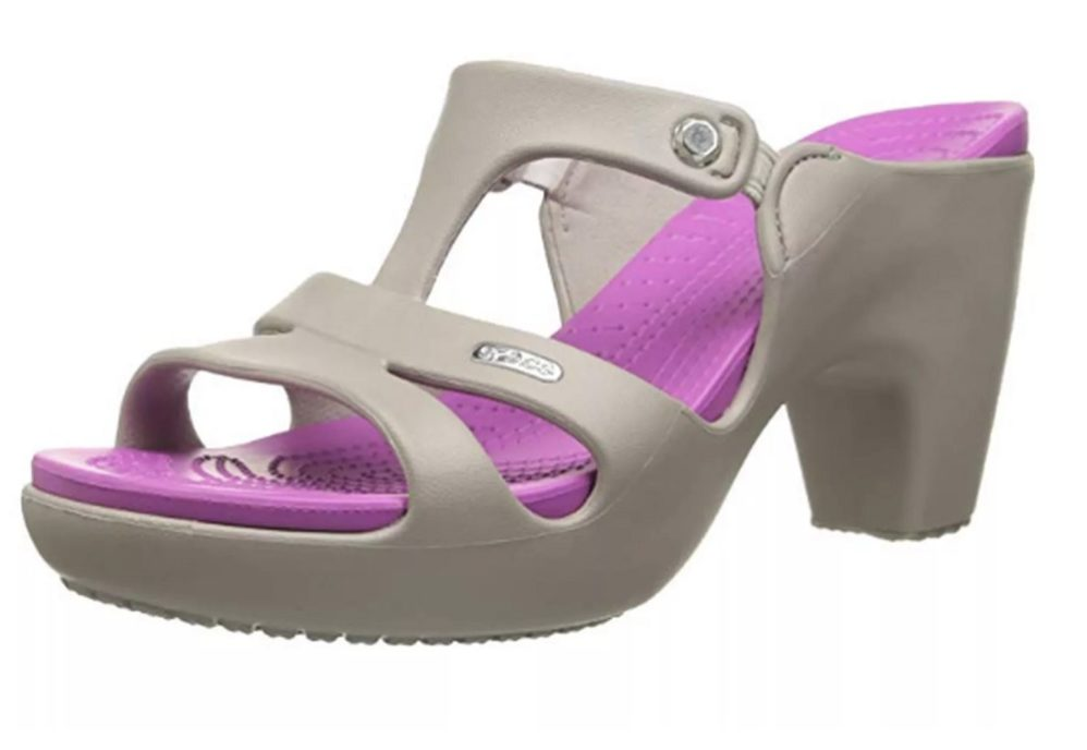 Heeled Crocs Are A Leap Into Inglorious Shoe Barbarism