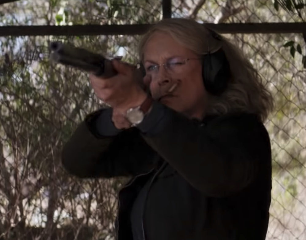 2018's 'Halloween' And Star Jamie Lee Curtis Amplify The Power Of Guns
