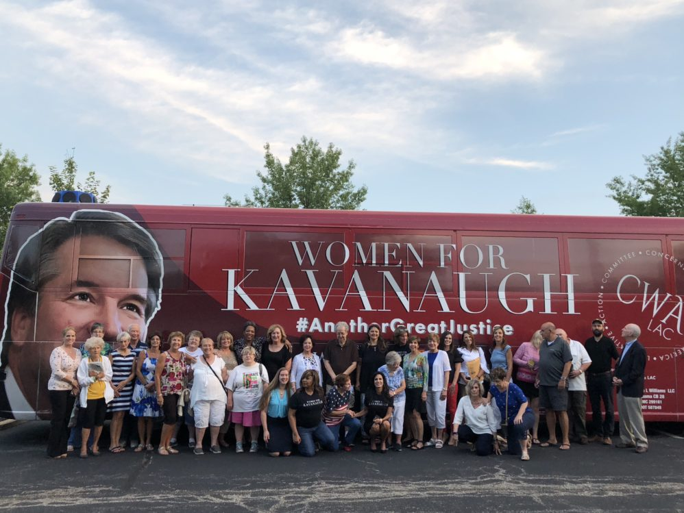 Podcast: 'Women For Kavanaugh' Leader Describes Chaos, Media, And Agony