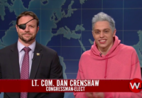 Watch Republican Dan Crenshaw Troll SNL's Pete Davidson With Ariana Grande Ringtone