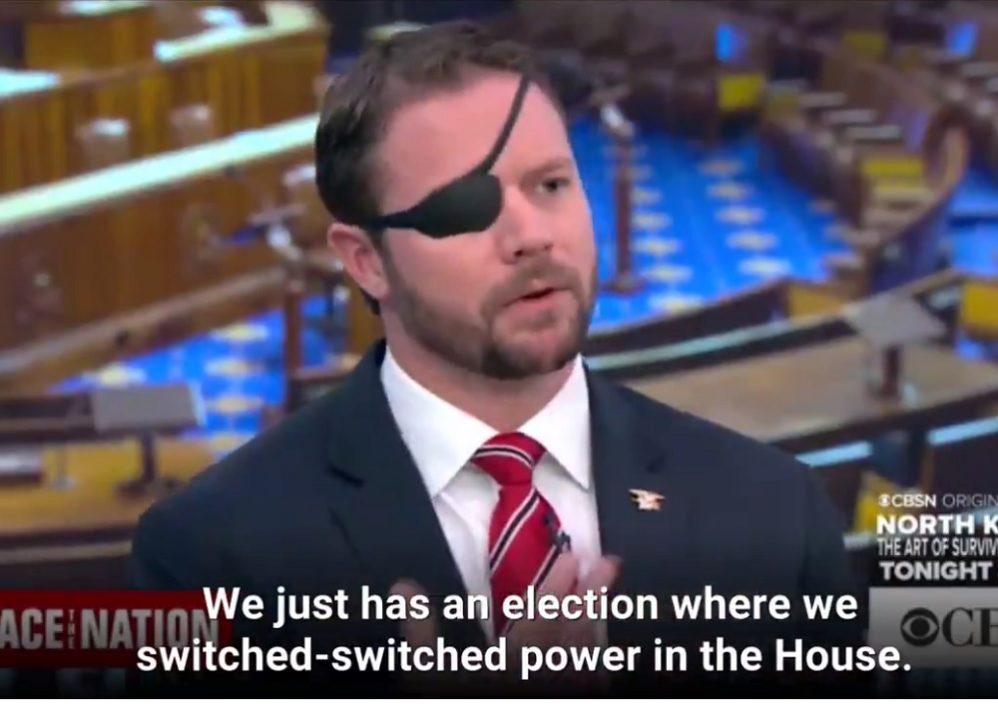 Watch Dan Crenshaw Beat Down Media's Wild Hyperbole About Trump 'Undermining Democracy'