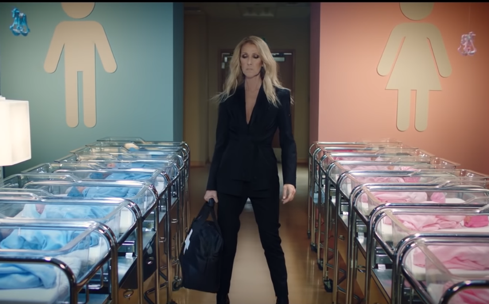celine dion s new gender neutral clothing is self contradictory