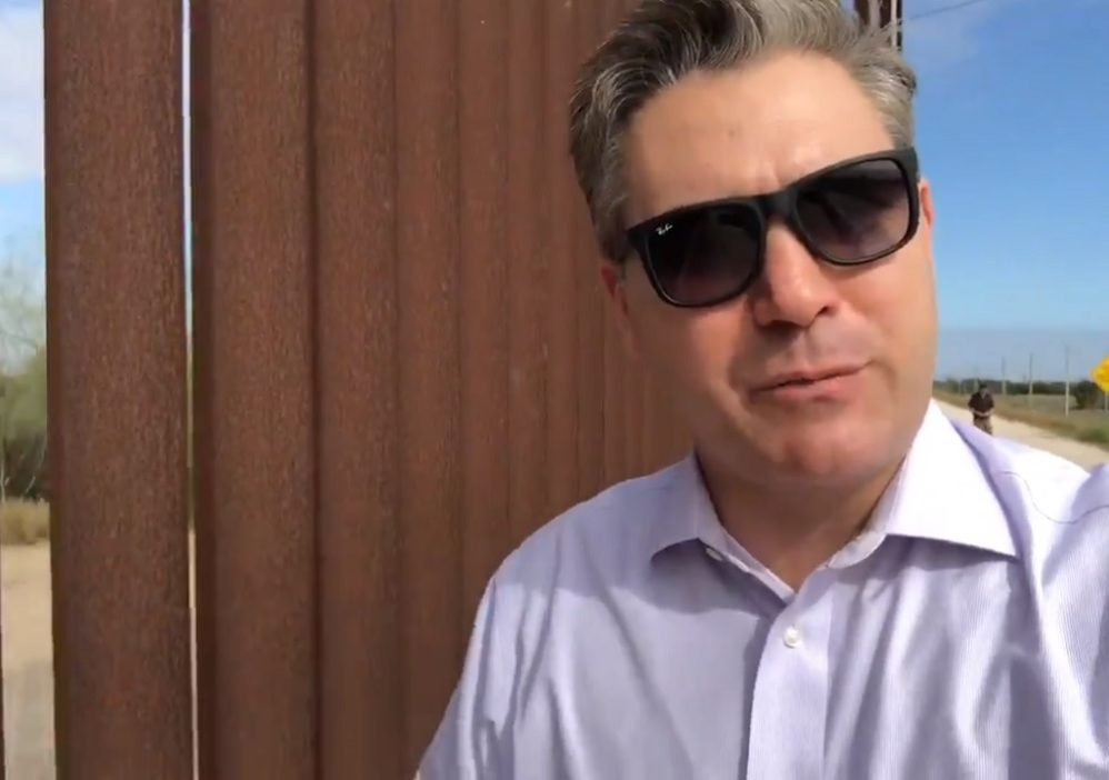 Please Enjoy This Video Of Jim Acosta Owning Himself At The Border Wall
