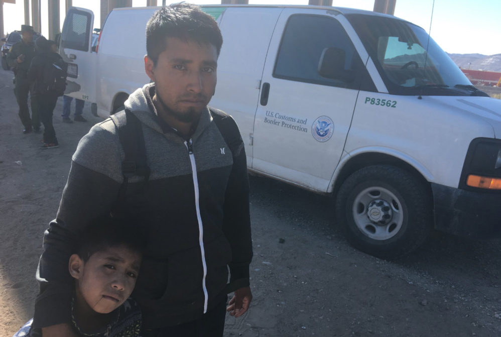 LISTEN: Visiting The Migrant Emergency At The Border