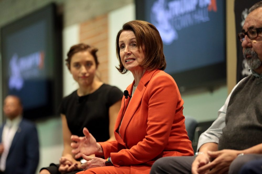 Nancy Pelosi Changes Her Opinion Of Presidential Powers Depending On Who The President Is