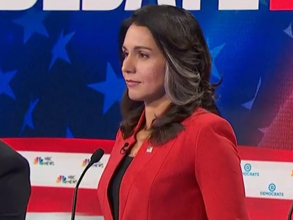 Clinton Spokesman Doubles Down On Wild Tulsi Gabbard Conspiracy Theory