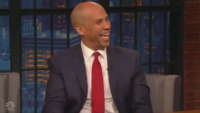 Cory Booker Blames His Testosterone For Wanting To Punch Trump