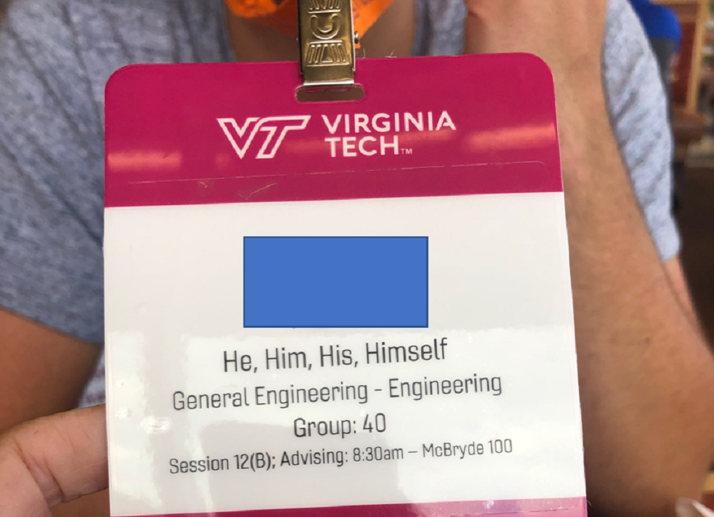 My Son's Orientation At Virginia Tech Was Full Of Leftist Propaganda