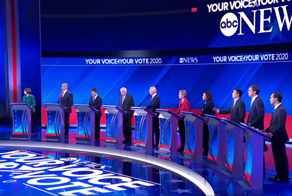 Third Democratic Debate ABC