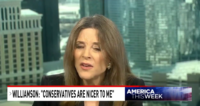 Marianne Williamson On Hot Mic: Conservatives Are Nicer To Me Than The 'Lefties'
