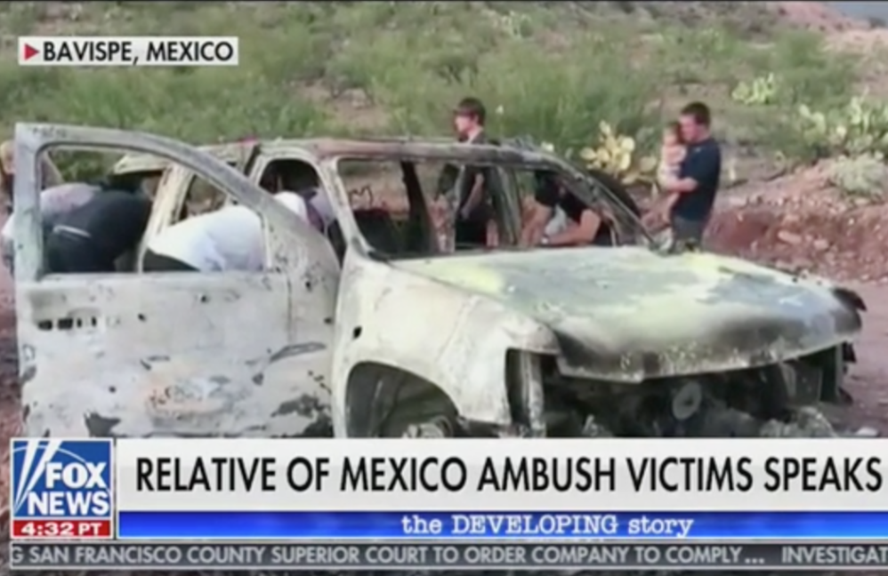 Relatives Of Family Slain In Mexico Say Cartel Attack Was No Accident