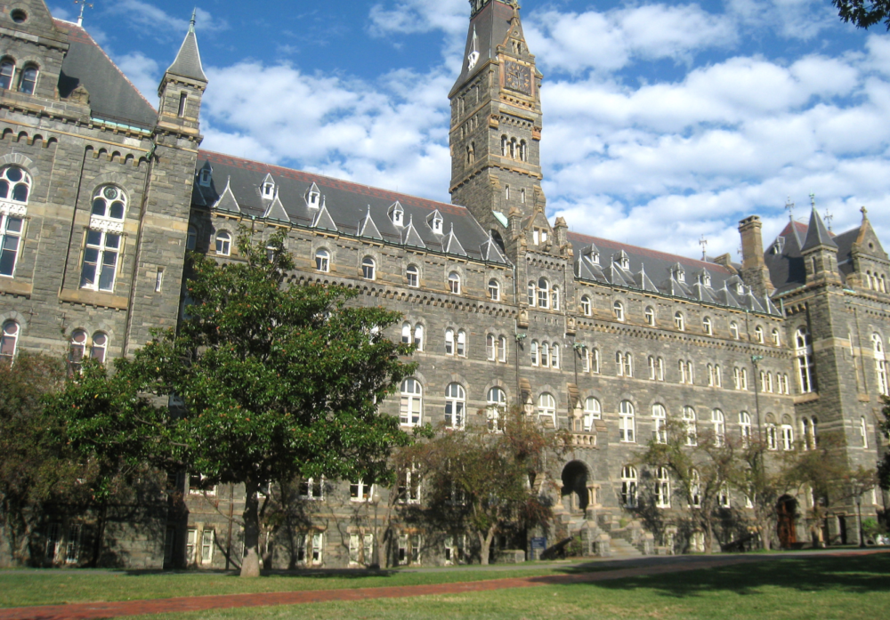 Title IX letter from Georgetown