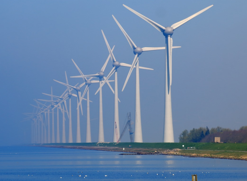 Green New Deal wind power