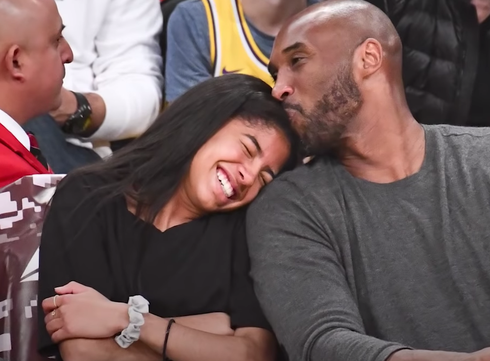 girl dads Kobe Bryant